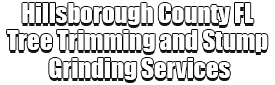 Hillsborough County FL Tree Trimming and Stump Grinding Services Logo-We Offer Tree Trimming Services, Tree Removal, Tree Pruning, Tree Cutting, Residential and Commercial Tree Trimming Services, Storm Damage, Emergency Tree Removal, Land Clearing, Tree Companies, Tree Care Service, Stump Grinding, and we're the Best Tree Trimming Company Near You Guaranteed!